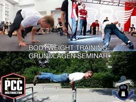 Bodyweight Training - Grundlagen Seminar - immer und überall trainieren