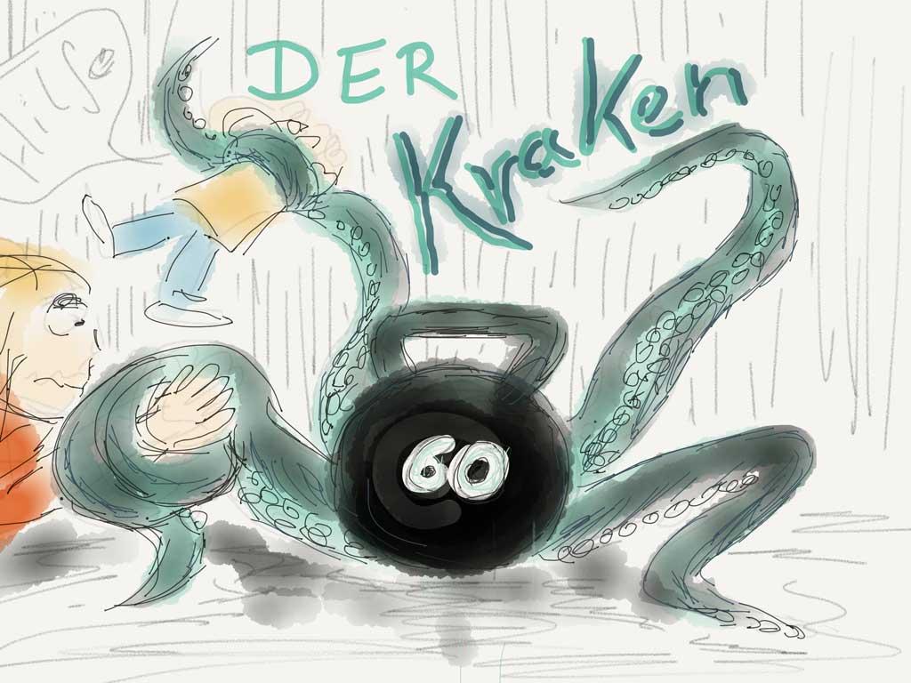 Der Kraken als Name für die 60kg Kettlebell