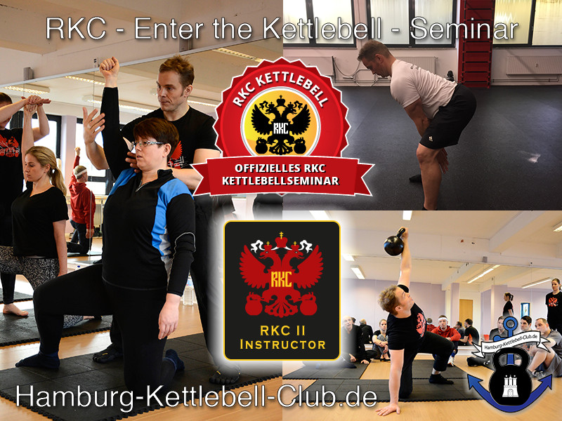 RKC - Enter the Kettlebell Seminar in Hamburg