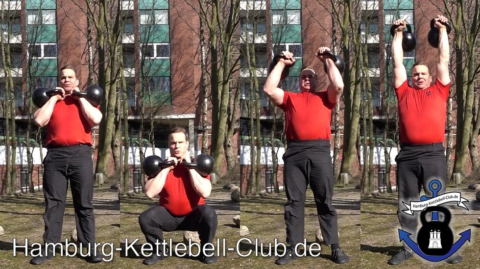 Kettlebell Thrusters