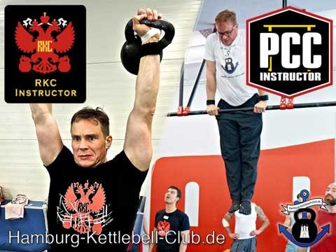 Russian Kettlebell Zertifiziert -RKC / Progressive Calisthenics - PCC