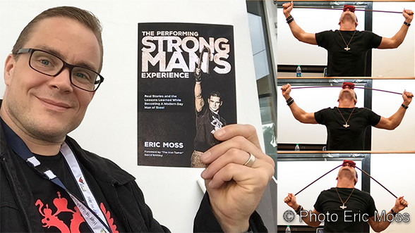 Buchbesprechung: »The Performing Strongman´s Experience« von Eric Moss