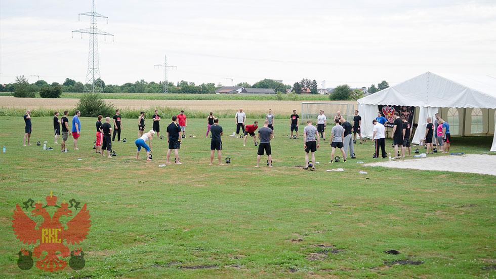 RKC Summercamp - Kreis Workout