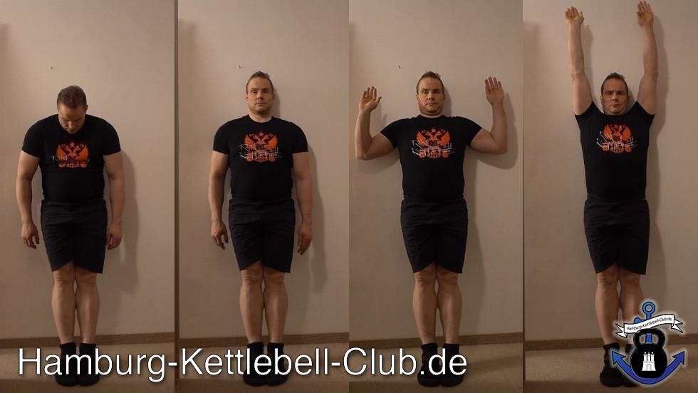Shoulder Slides helfen bei der Schultermobilität