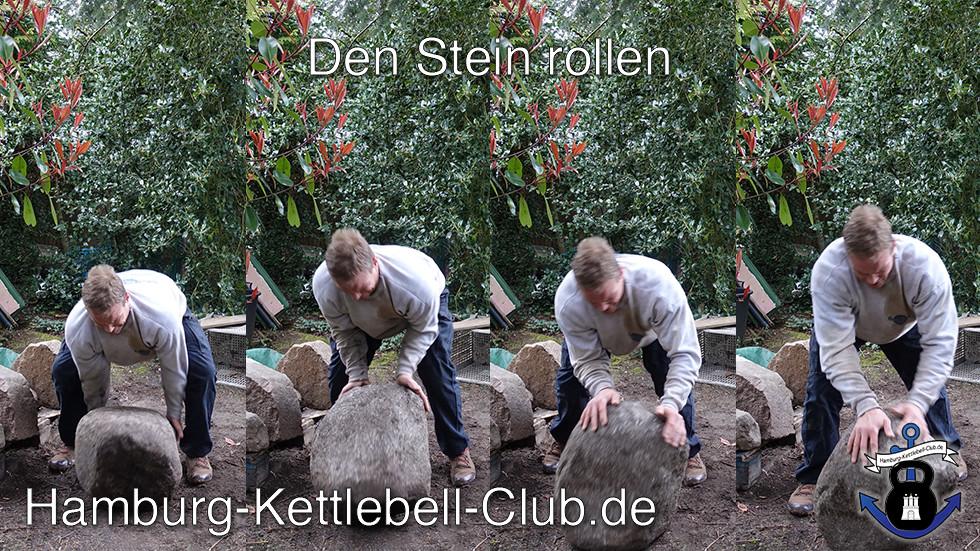 Stone Rolling / den Stein rollen (Steinrollen)