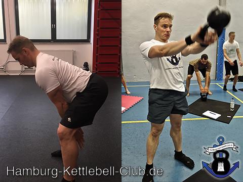 10.000 Kettlebell Swing Challenge von  Dan John
