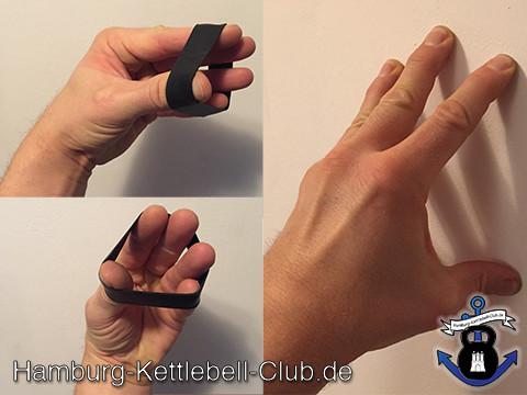 Kettebell Swing Challenge Gegenbewegungen entspannen Eure Hände