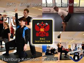 Enter the Kettlebell das Einsteigerseminar in die Welt der Kettlebell!