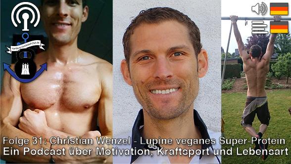 Podcast 31:  Lupine veganes Superprotein mit Christian Wenzel