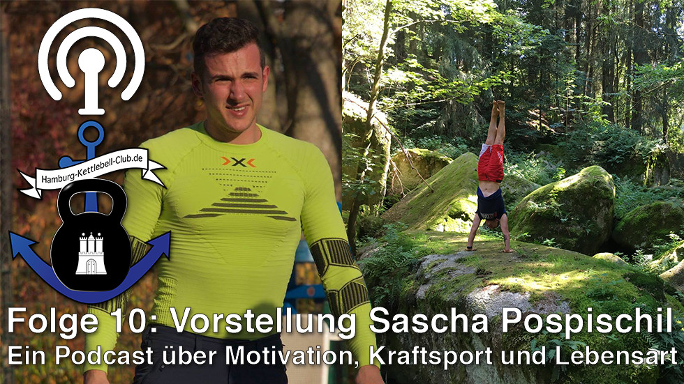 Podcast Nr. 10 Sascha Pospischil - Allround Sportler