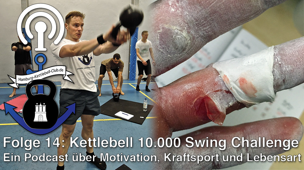 Podcast Nr. 14 Sascha Pospischil - 10.000 Swing-Challenge