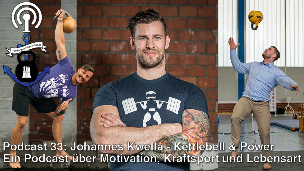 Podcast 33: Johannes Kwella - Kettlebell & Power