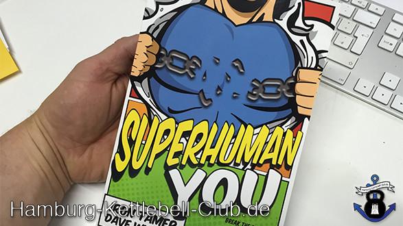 Rezension: »Superhuman You« von Iron Tamer Dave  Whitley