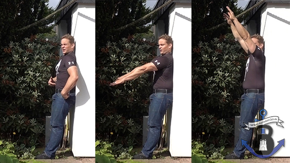 Straffer Bauch, aufrechte Haltung & mobile Schultern